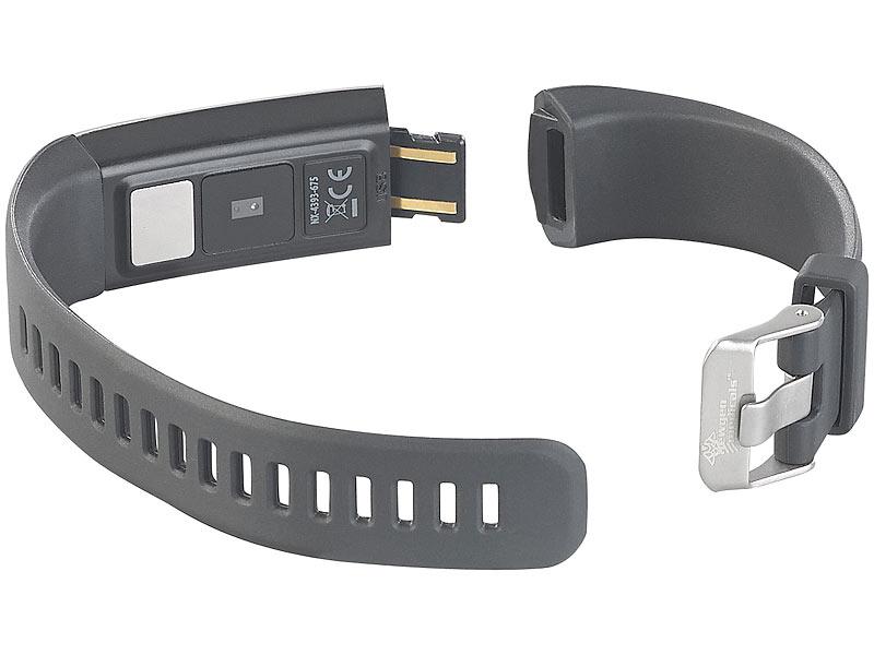 newgen medicals fitnessuhr fitness armband mit blutdruck. Black Bedroom Furniture Sets. Home Design Ideas