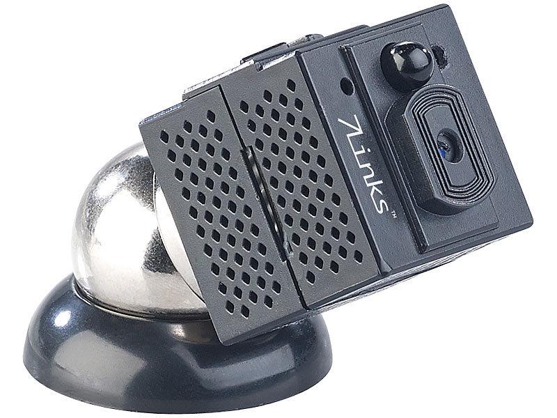 7links spionage kamera hd micro ip berwachungskamera mit. Black Bedroom Furniture Sets. Home Design Ideas