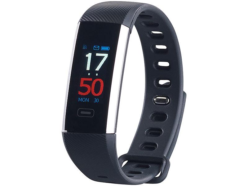 newgen medicals fitnesstracker fitness armband mit. Black Bedroom Furniture Sets. Home Design Ideas