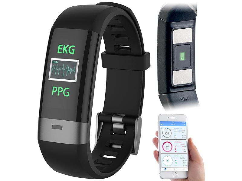 newgen medicals Pulsuhr: Fitness-Armband, Blutdruck..