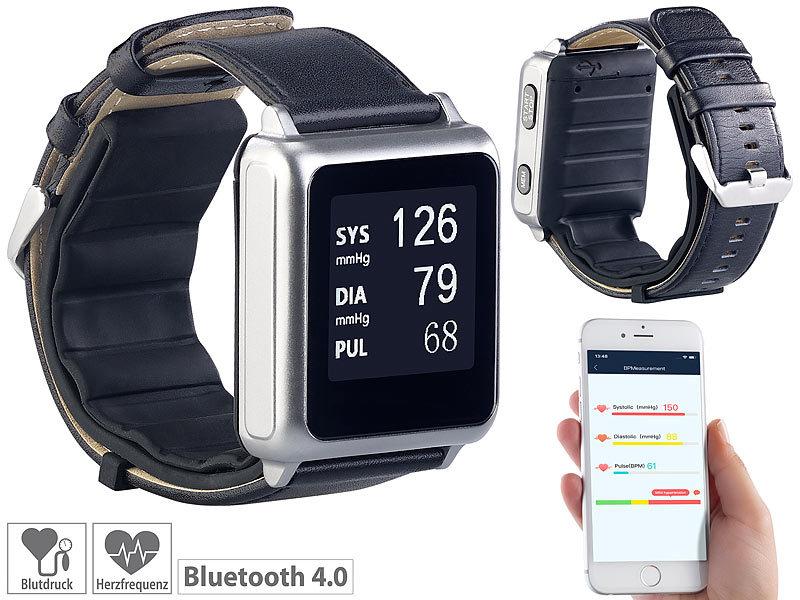 newgen medicals Puls-Blutdruck-Uhr: Medizinische Blutdruck..