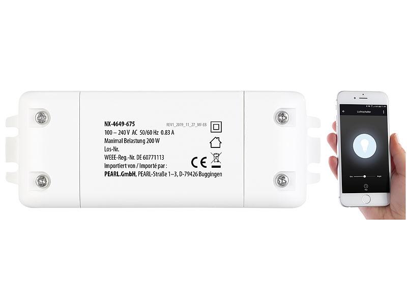 Lampen Wlan Steuerung : luminea home control alexa wechselschalter wlan schalter ~ Watch28wear.com Haus und Dekorationen