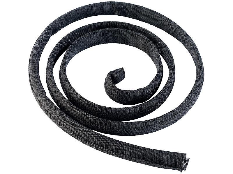 ltc kabelschutz schlauch label the cable tube selbstschlie ender kabelschlauch 2 m. Black Bedroom Furniture Sets. Home Design Ideas