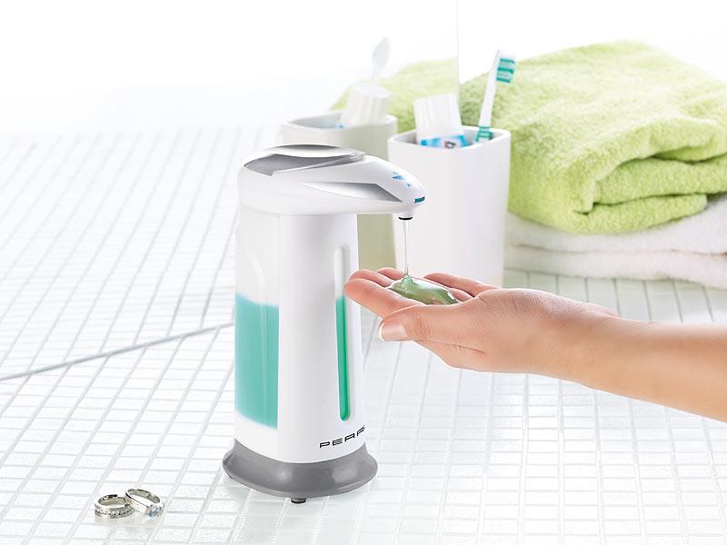automatischer seifenspender mit bewegungssensor abdeckung ablauf dusche. Black Bedroom Furniture Sets. Home Design Ideas