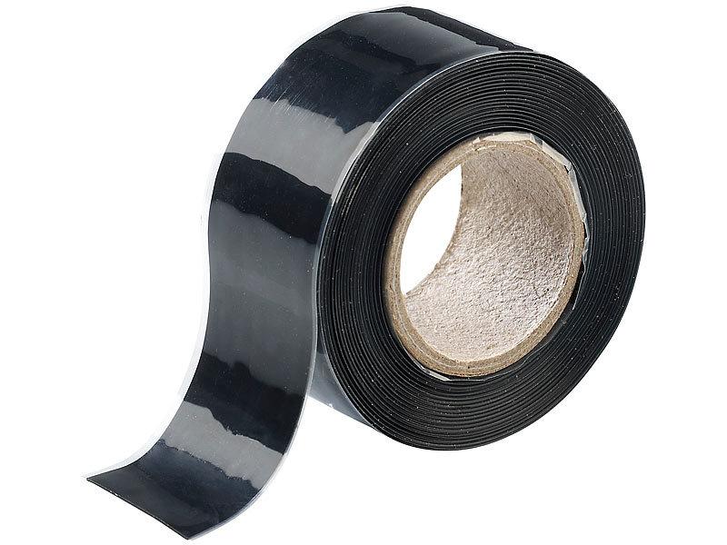 Agt selbstklebendes abdichtband set 3 x 3 meter schwarz for Salz gegen algen gartenteich