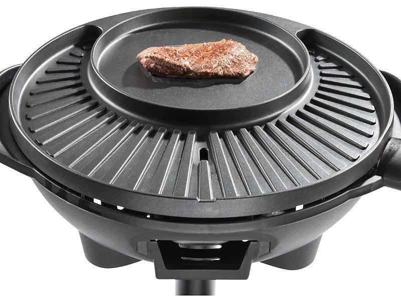 rosenstein s hne elektro kugel grills 5in1 elektro kugelgrill mit temperaturregler und. Black Bedroom Furniture Sets. Home Design Ideas