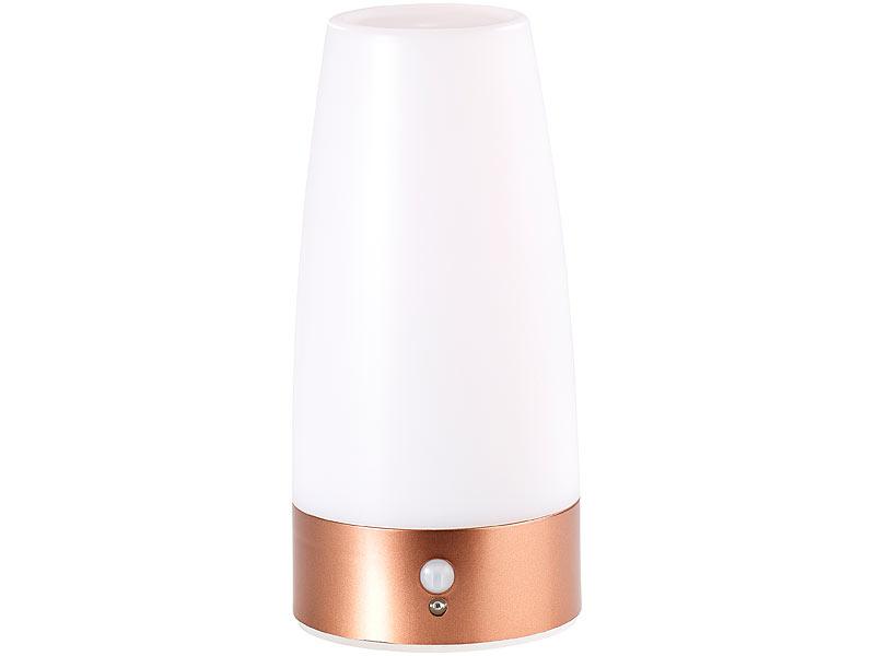 High Quality ... Lunartec LED Tischlampe Mit PIR Bewegungs Sensor, Batterie Betrieben,  Warmweiß Lunartec ...