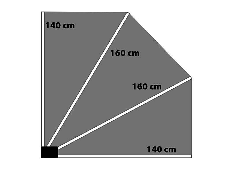 Royal Gardineer Sichtschutzfächer: Sichtschutz-Fächer für ...