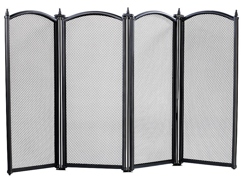 carlo milano funkenschutz funkenschutzgitter 4 teilig. Black Bedroom Furniture Sets. Home Design Ideas