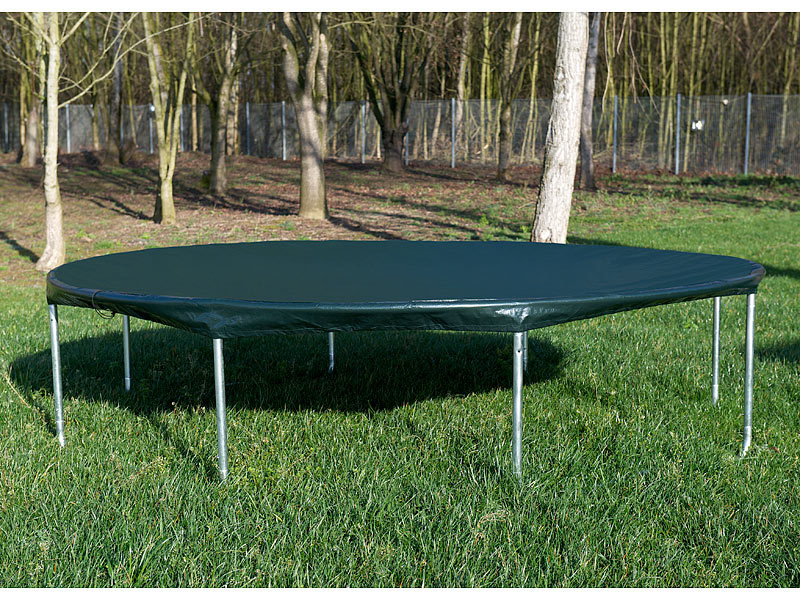 royal gardineer abdeckplane rund gewebe abdeckplane f r pool trampolin 300 x 17 cm x h. Black Bedroom Furniture Sets. Home Design Ideas