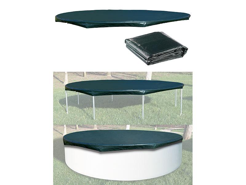 Royal gardineer trampolin abdeckung gewebe abdeckplane for Garten pool 3m