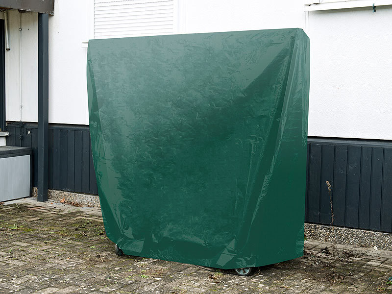... Royal Gardineer Gewebe Abdeckplane Für Tischtennis Platte, 185 X 160 X  70 Cm ...