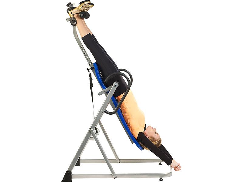newgen medicals schwerkrafttrainer ergonomischer inversions schwerkrafttrainerbank m gurt. Black Bedroom Furniture Sets. Home Design Ideas