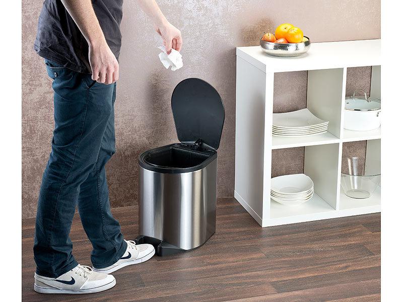 infactory m lleimer mit sensor automatik abfalleimer aus. Black Bedroom Furniture Sets. Home Design Ideas