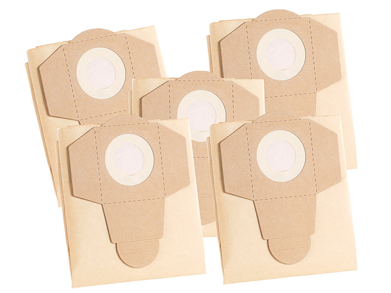 sichler asche sauger staubsaugerbeutel f r nass und trockensauger bls 115 5er pack. Black Bedroom Furniture Sets. Home Design Ideas