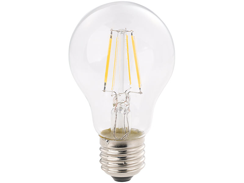 luminea e27 led filament bulb led filament birne a e27 4 watt 470 lumen 360 warmwei. Black Bedroom Furniture Sets. Home Design Ideas
