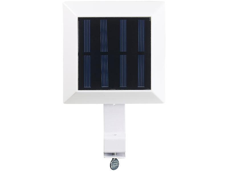 lunartec solar led dachrinnenleuchte 6 smd leds 20 lumen ip44 licht sensor. Black Bedroom Furniture Sets. Home Design Ideas