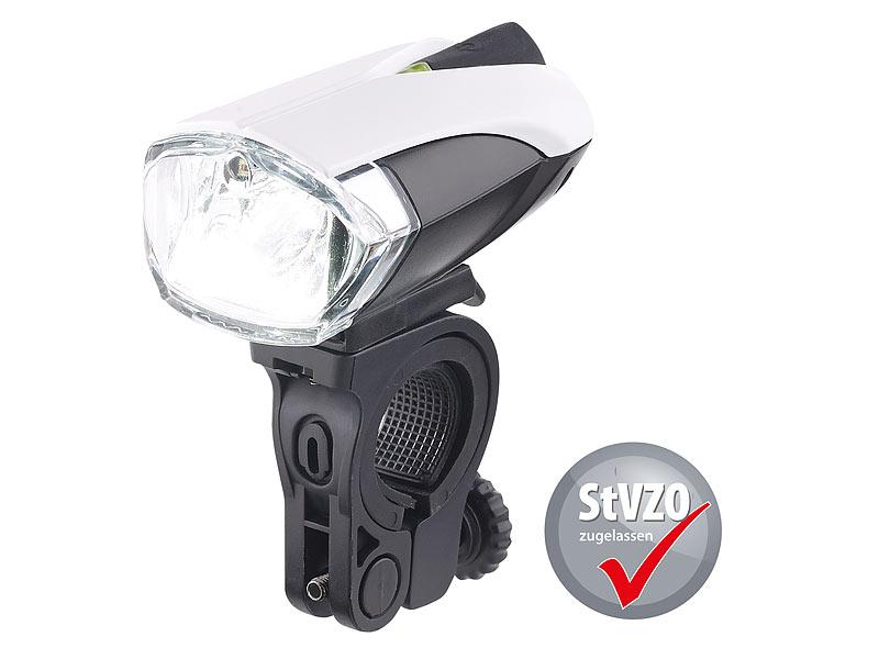 kryolights fahrradlampe fl 211 mit cree led akku zugelassen nach stvzo. Black Bedroom Furniture Sets. Home Design Ideas