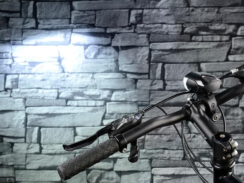 kryolights fahrradlicht batteriebetriebene led fahrradlampe fl 110 zugelassen nach stvzo. Black Bedroom Furniture Sets. Home Design Ideas