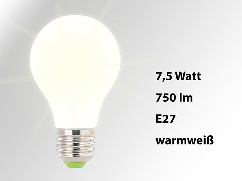 Luminea Leuchtmittel E27 Smd Led Lampe E27 360 8 Watt 750