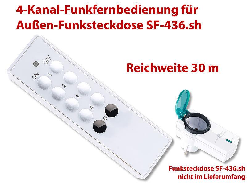 casacontrol steckdosen f r smarthome 4 kanal. Black Bedroom Furniture Sets. Home Design Ideas