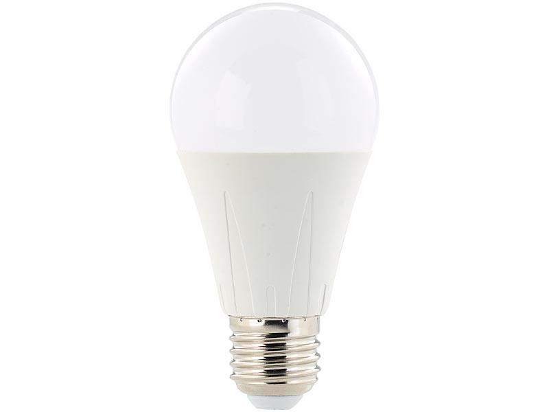 Luminea LED-Lamps: LED-Lampe E27, 638 Lumen, 8 Watt, 270 ...