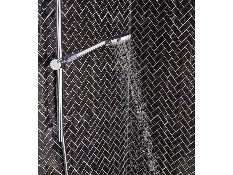 badestern brausekopf wasserspar duschkopf mit 61 antikalk d sen und 3 strahl arten massage. Black Bedroom Furniture Sets. Home Design Ideas