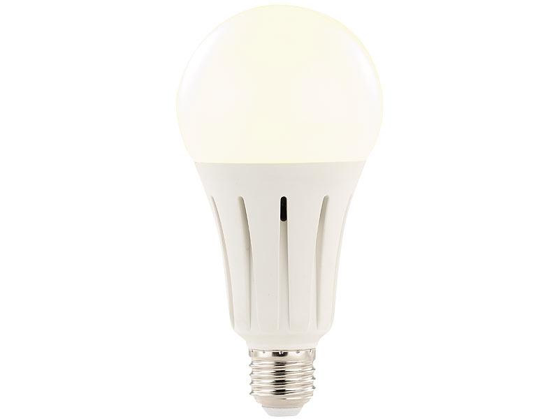 luminea led gl hbirne high power led lampe e27 24 watt lumen 3000 k 4er set ledleuchten. Black Bedroom Furniture Sets. Home Design Ideas