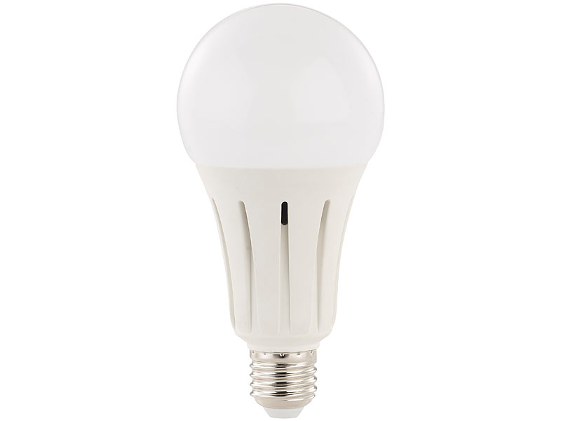 luminea led leuchtmittel e27 led lampe e27 15 watt 1350. Black Bedroom Furniture Sets. Home Design Ideas