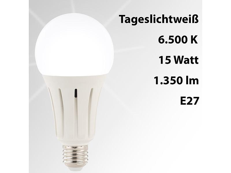 luminea led lampe e27 15 watt 1350 lumen a. Black Bedroom Furniture Sets. Home Design Ideas