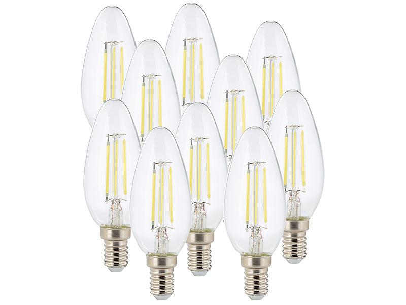 Kühlschrank Led Kaltweiss : Luminea led fadenkerzen e14: led filament kerze b35 e14 470 lm 4