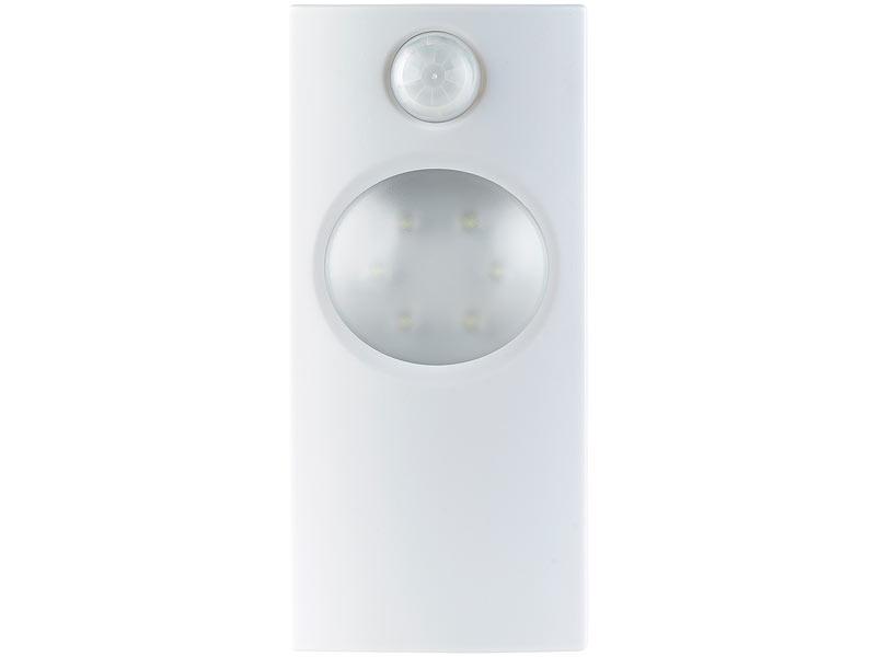 lunartec led orientierungslicht led wand stand leuchte mit bewegungserkennung 0 36 watt 40. Black Bedroom Furniture Sets. Home Design Ideas