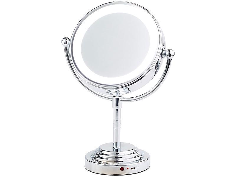 sichler beauty kosmetikspiegel 5 fach led kosmetikspiegel. Black Bedroom Furniture Sets. Home Design Ideas