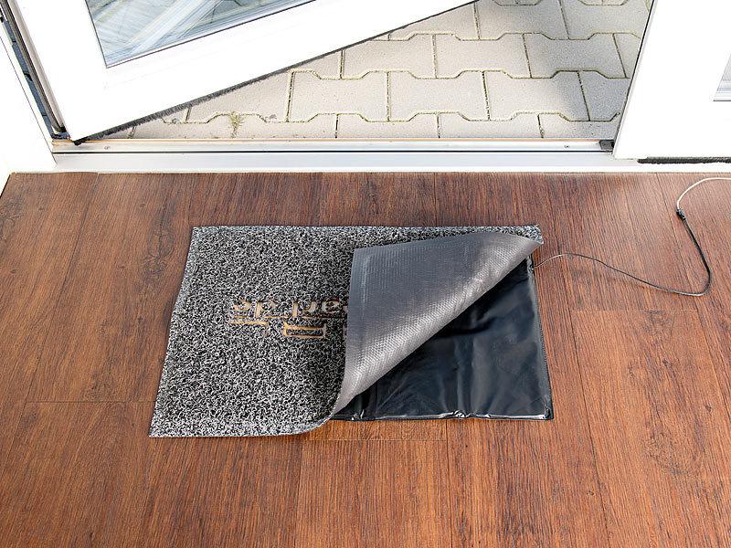 visortech durchgangsmelder batteriebetriebene klingel trittmatte mit alarmfunktion. Black Bedroom Furniture Sets. Home Design Ideas
