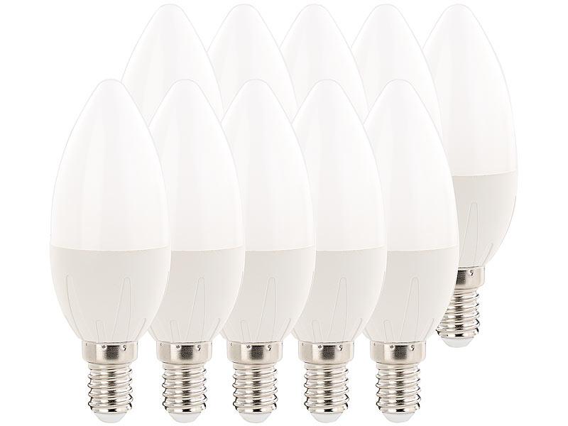 luminea led lampen e14 warmwei led kerzen e14 a 6 watt 480 lumen warmwei 270 b35. Black Bedroom Furniture Sets. Home Design Ideas