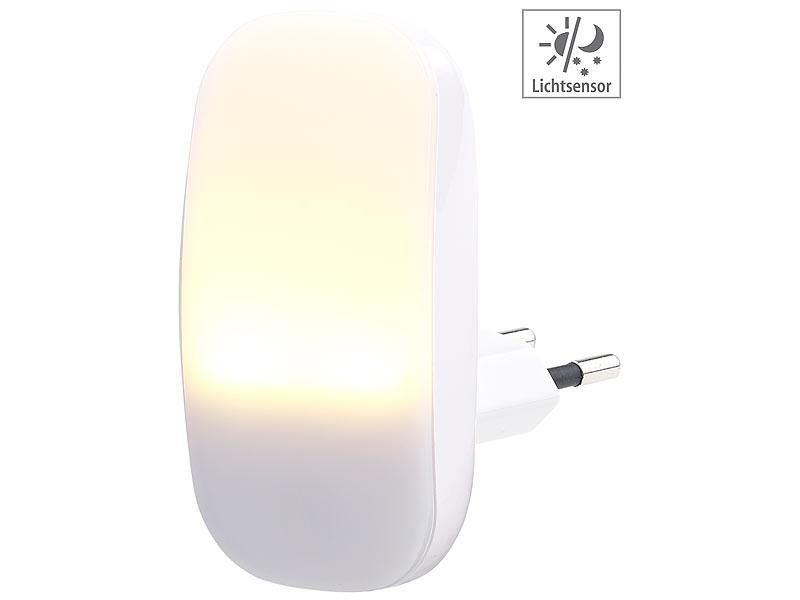 lunartec nachtlampe kompaktes led steckdosen nachtlicht d mmerungssensor 1 lm 0 25 w baby. Black Bedroom Furniture Sets. Home Design Ideas