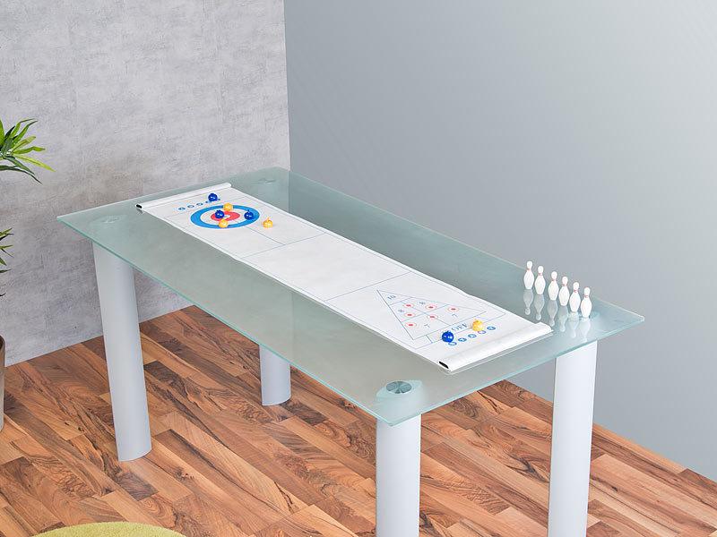 43e3bea1e6ee3 Playtastic Spielesammlung  3in1-Tischspiele-Set mit Curling