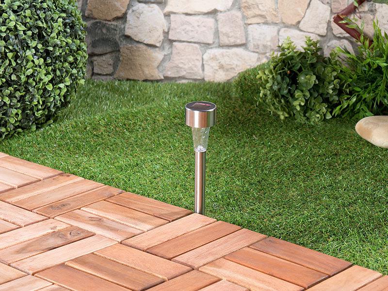 Pearl Led Gartenlicht 5er Set Mini Solar Led Wegeleuchten Mit