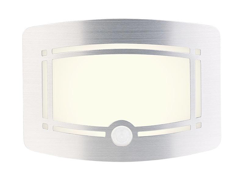 lunartec wandleuchte kabellos 2 stufige akku led wandleuchte bewegungs lichtsensor 40 lm. Black Bedroom Furniture Sets. Home Design Ideas