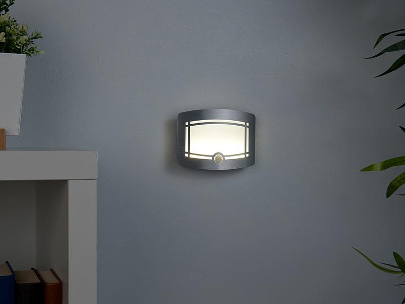 Wandleuchte Mit Batterie : lunartec wandlampen mit batterie 2 stufige batterie led wandleuchte bewegungs lichtsensor ~ A.2002-acura-tl-radio.info Haus und Dekorationen