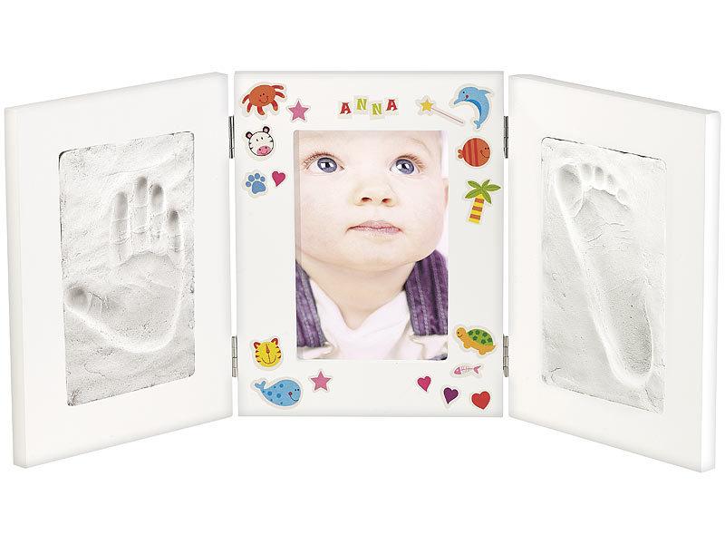 Your Design Baby-Bilderrahmen: 3-teiliger Rahmen für Babyfoto und 2 ...