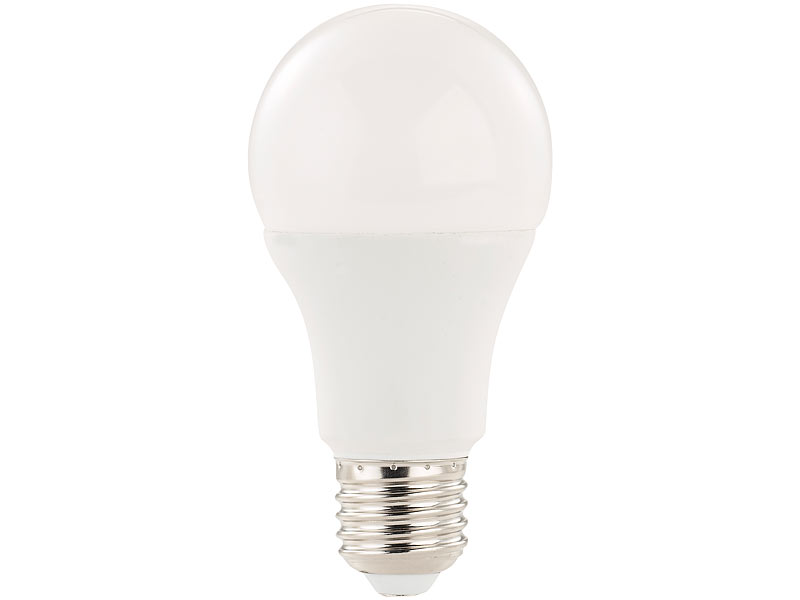 luminea led bewegungsmelder 3 led lampen mit radar bewegungssensor 12 w e27 k tw. Black Bedroom Furniture Sets. Home Design Ideas