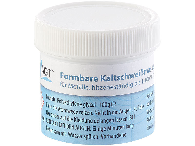 Beliebt AGT Flüssigmetall: Kaltschweißmasse für Metalle, hitzebeständig TK49