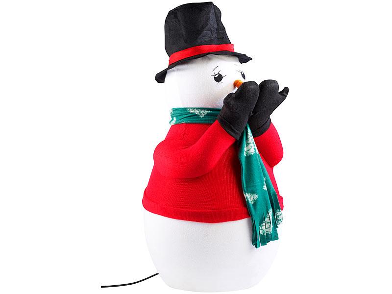infactory weihnachts figuren deko schneemann mit seifenlauge kunst schneekanone. Black Bedroom Furniture Sets. Home Design Ideas