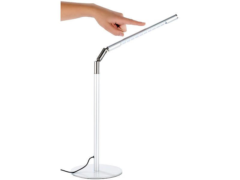 Büromöbel Büro & Schreibwaren Kraftvoll Tischlampe Grau Led Ohne RüCkgabe