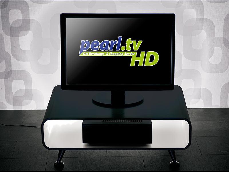 lunartec tv hintergrundbeleuchtung lt 184w mit 4 leisten usb wei 46 70. Black Bedroom Furniture Sets. Home Design Ideas