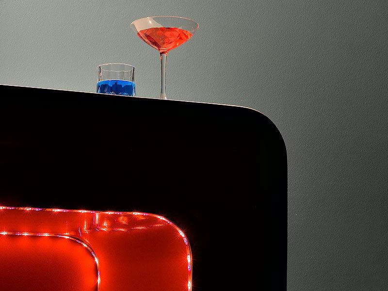 lunartec led strip au en led streifen le 500ra rot 5m. Black Bedroom Furniture Sets. Home Design Ideas
