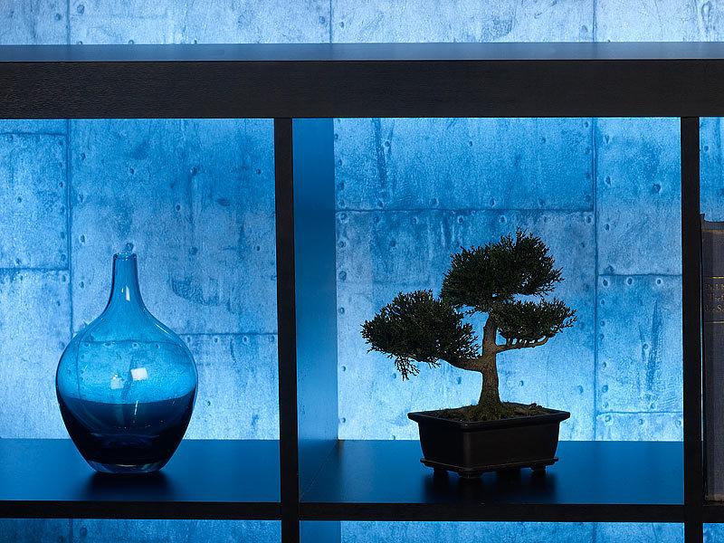 lunartec lichtband led streifen le 500bn 5 m blau innenbereich lichterschlauch. Black Bedroom Furniture Sets. Home Design Ideas