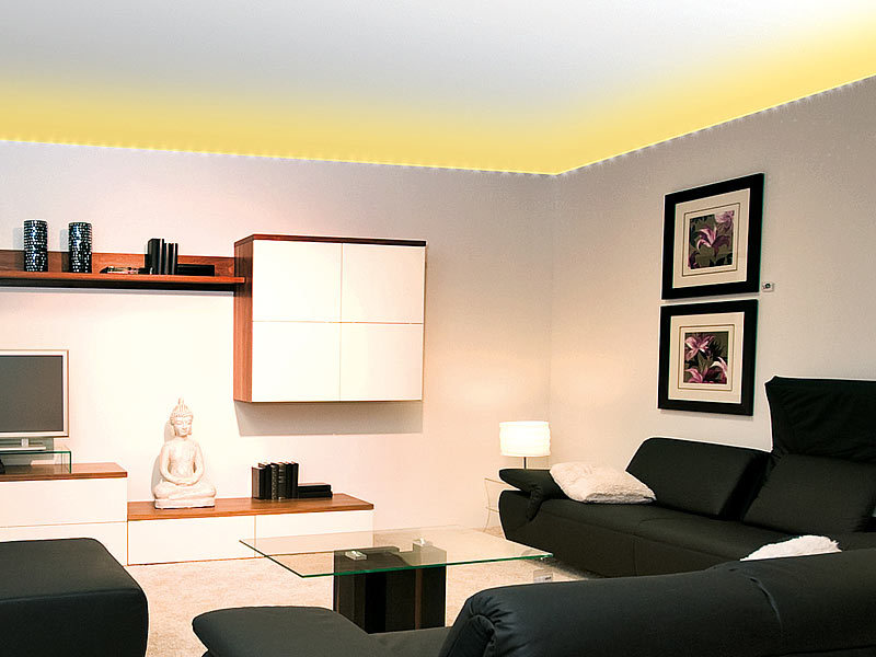 4er set lunartec led pflanzenlampe mit 48 leds g nstig. Black Bedroom Furniture Sets. Home Design Ideas