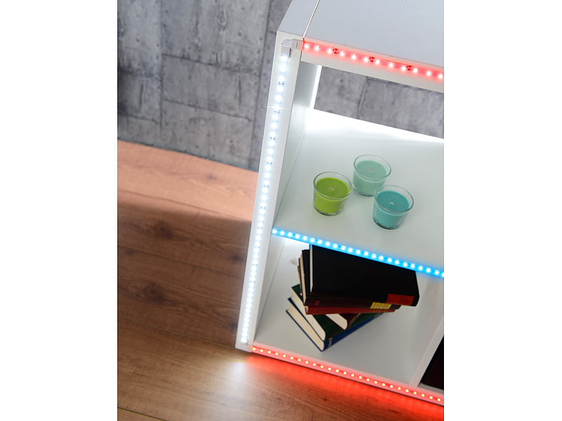 lunartec t verbindungsst ck f r led streifen der serie le ip44. Black Bedroom Furniture Sets. Home Design Ideas